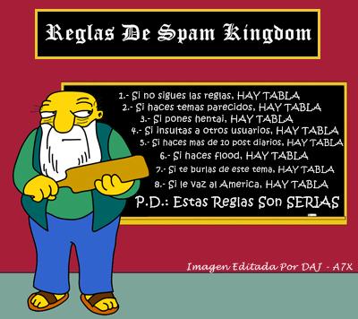 Reglas De Spam Kingdom [IMPORTANTE LEER] ReglasDeSpamKingdom