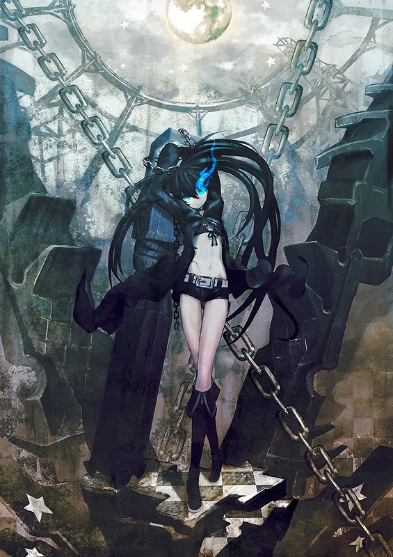 black rock shooter Pictures, Images and Photos