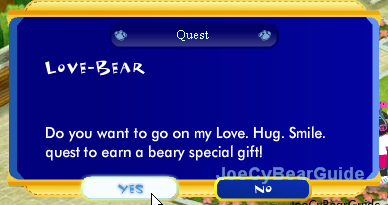 Love. Hug. Smile  Quest A-joe-screenshot186