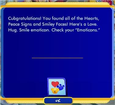 Love. Hug. Smile  Quest Rewardquest