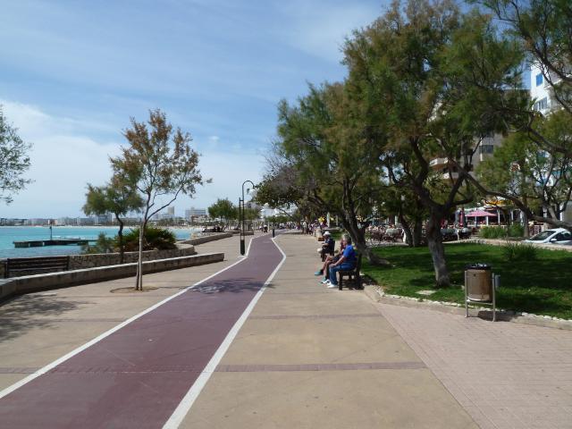 Cala Bona Town overview CBtoCMwalk1