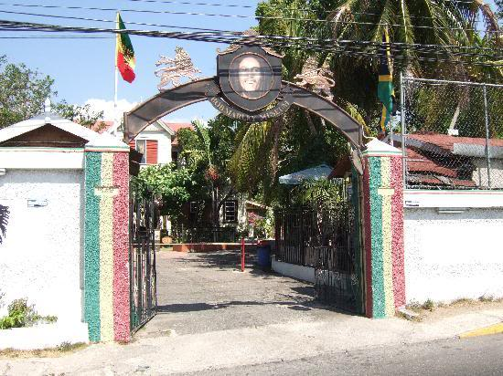 Caribbean Islands, Jamaica, trips and tours available Marleyentrance