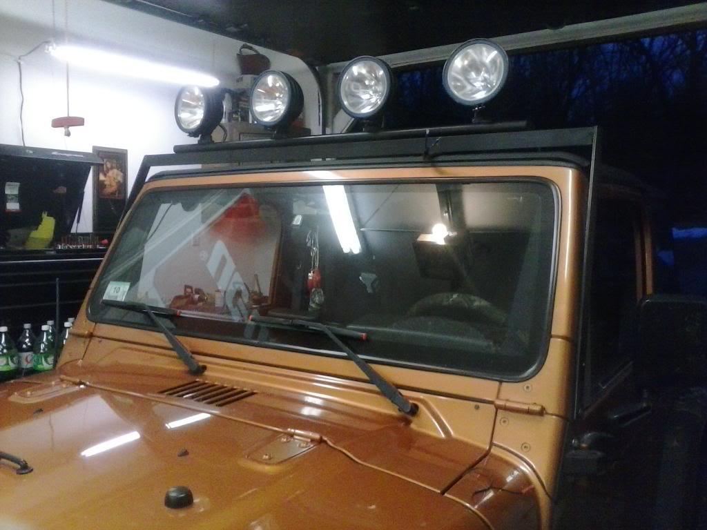 lightbar w/4 lights  Jeeplight