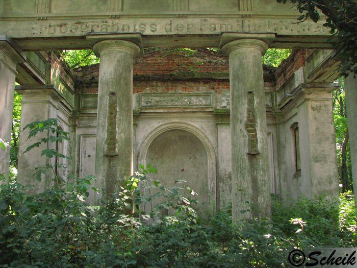 Goruńsko (gmina Bledzew) - grobowiec rodzinny C225