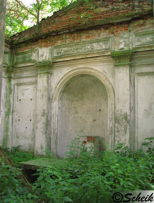 Goruńsko (gmina Bledzew) - grobowiec rodzinny C227