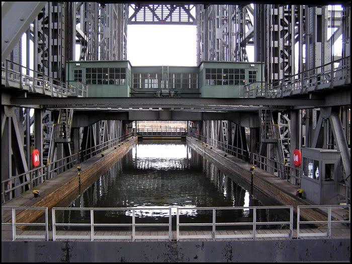 Podnośnia statków w Niederfinow Zt70