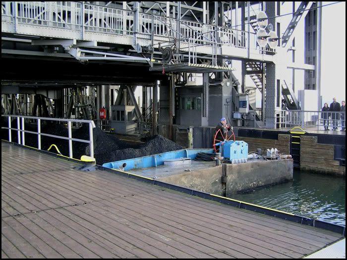 Podnośnia statków w Niederfinow Zt74