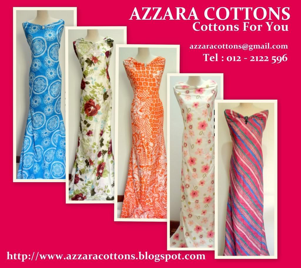 Baju Kurung Cotton (AZZARA COTTONS) Cantik Menawan! Cotts6