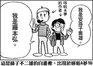 Chân dung tự họa của các mangaka Fujio