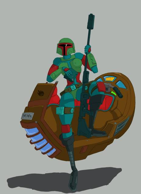 some more mando art Mando3