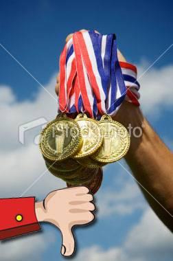 Para lembrar quem já esqueceu! Medalhas