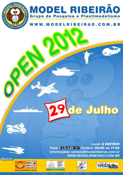 As temáticas de nosso Open 2012 Cartaz12
