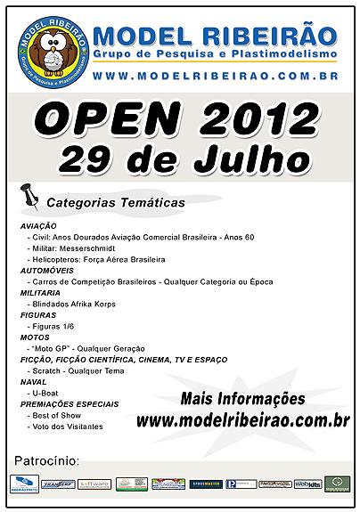 OPEN MODEL RIBEIRÃO 2012 FlyerModel2012