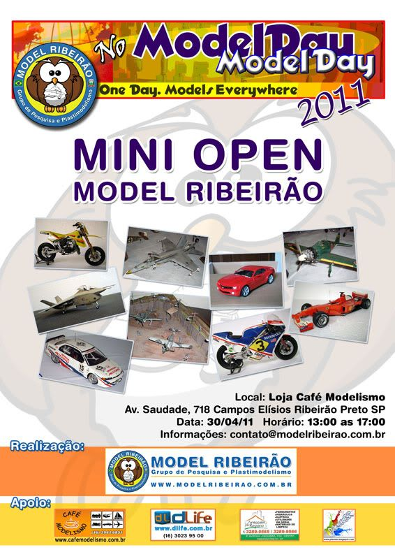 I Mini Open Model Ribeirão - Model Day International CartazModelDay800