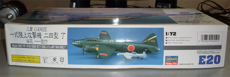 "Presente inestimável - Mitsubishi G4M2E ""Betty"" - Hasegawa 1/72 Hasegawa_G4M2E_Betty_02"