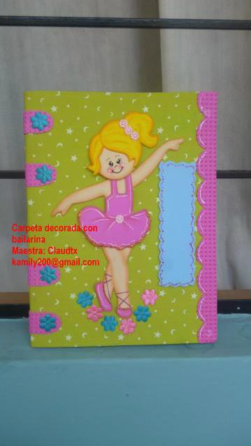 Galería del curso Carpeta decorada con bailarina - Página 2 P1060707