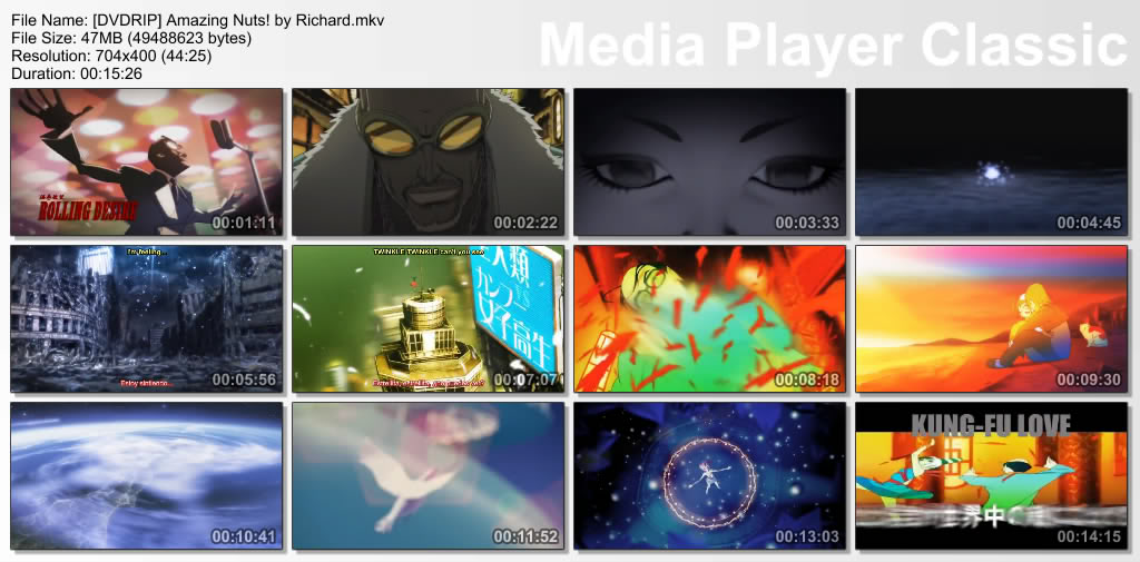 Amazing Nuts! [1/1] [50 MB] [Mediafire] DVDRIPAmazingNutsbyRichard