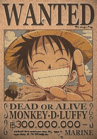 Grandes personajes anime! Wantedluffy