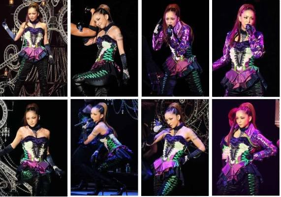 "Namie Amuro >> single ""BlackOut (feat. Verbal & Lil Wayne)"" A"