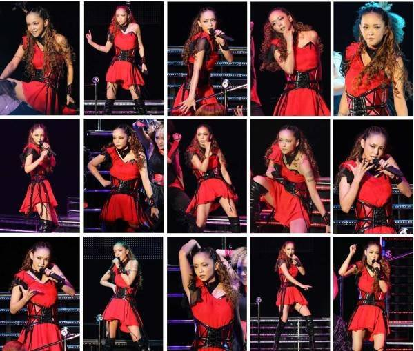 "Namie Amuro >> single ""BlackOut (feat. Verbal & Lil Wayne)"" Ass"
