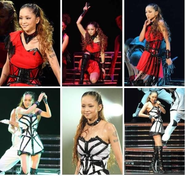 "Namie Amuro >> single ""BlackOut (feat. Verbal & Lil Wayne)"" E"