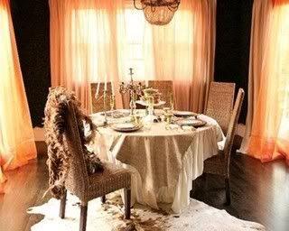 Comedor de Cenas Privadas Decoracion-romantica-original-co-1