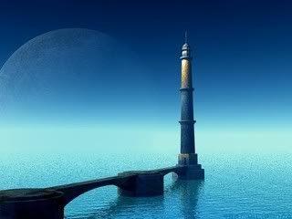 Faro Bajo el Claro de Luna Faro-1