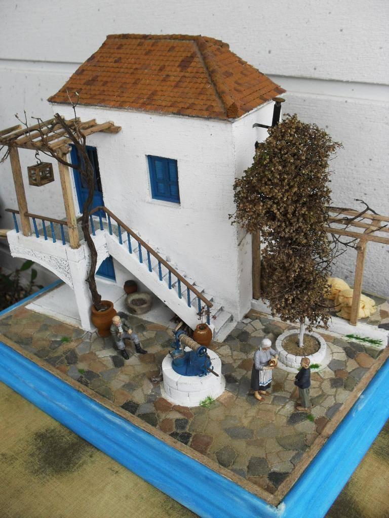 Διόραμα νησιώτικο σπίτι με θέμα  '' Για Ένα Ποτήρι Γάλα '' SDC11859_zps69ce37a5