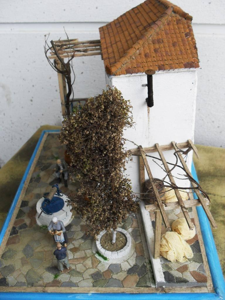 Διόραμα νησιώτικο σπίτι με θέμα  '' Για Ένα Ποτήρι Γάλα '' SDC11860_zps1dcb13c6