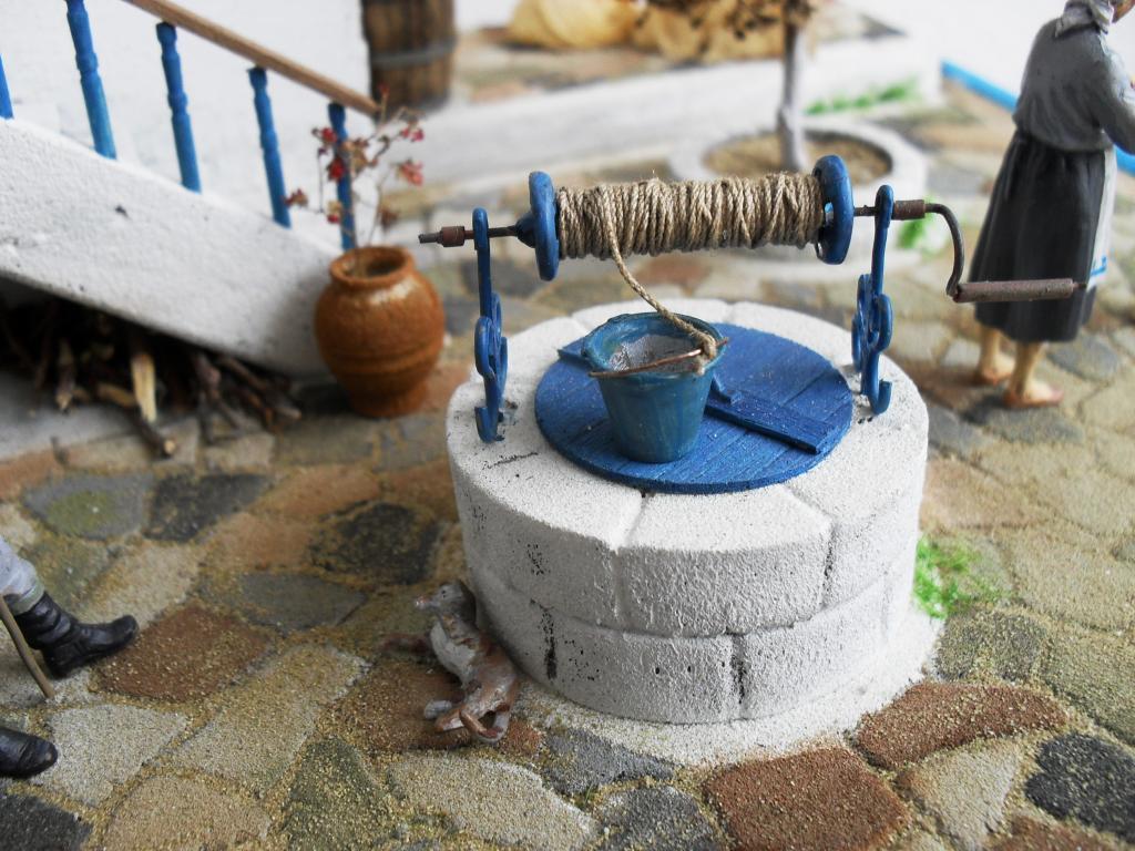 Διόραμα νησιώτικο σπίτι με θέμα  '' Για Ένα Ποτήρι Γάλα '' SDC11865_zps40e33b47