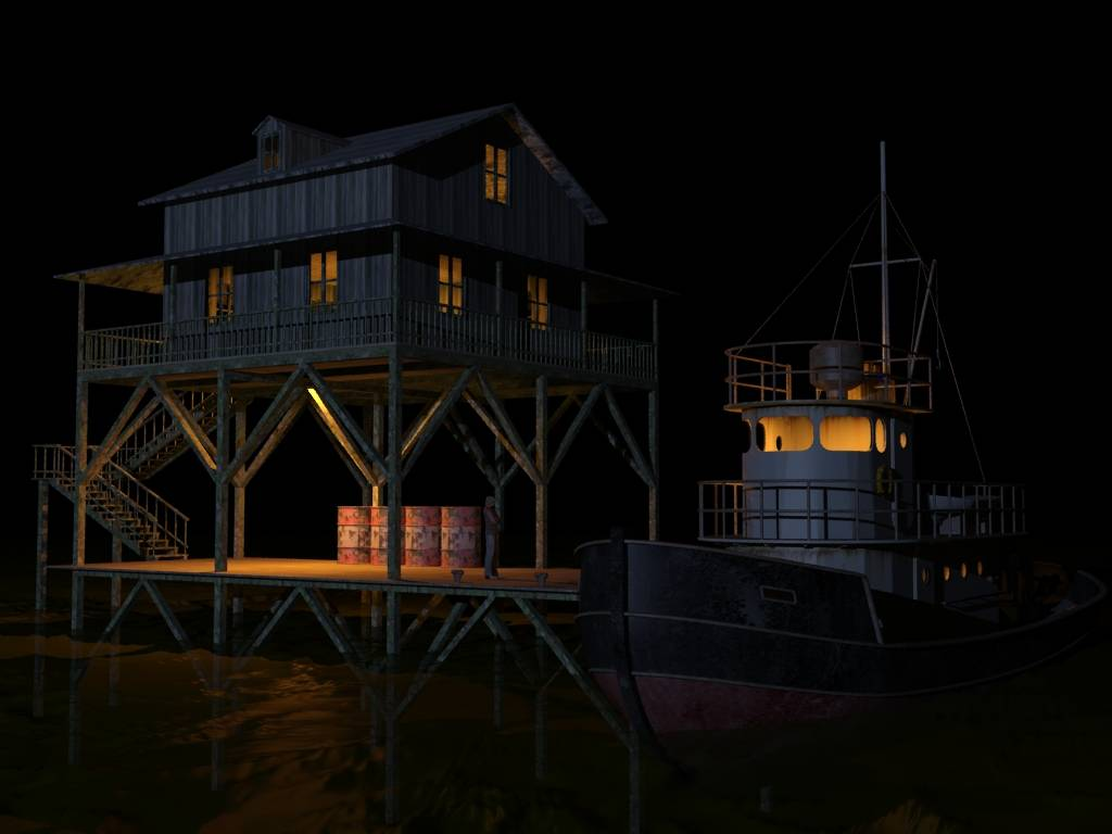 Lake House 1/48 Lakehouse1