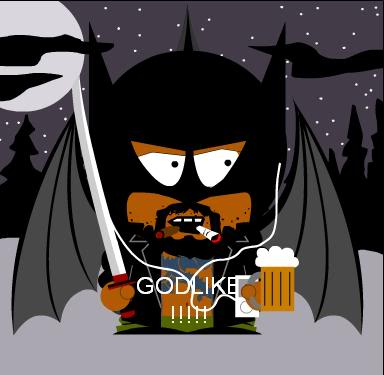 Create your own South Park character Godlike