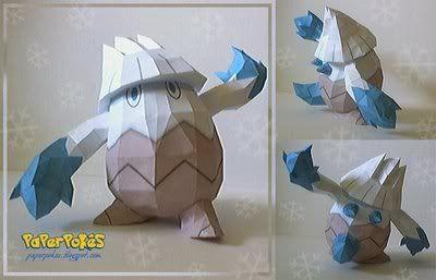 ICE POKEMON Snover-1