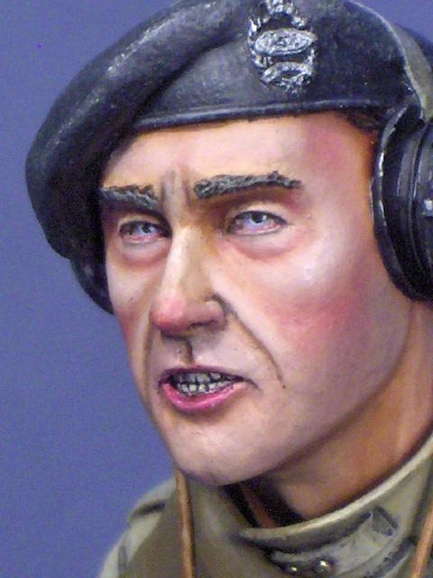 buste tankiste UK, WWII Tankiste04
