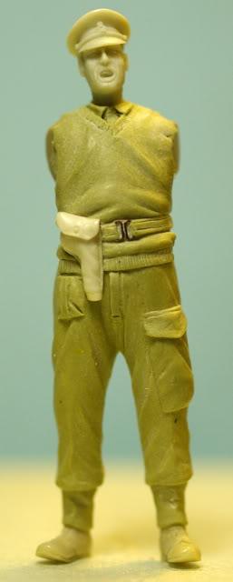 peinture - British Officer 25pdr PEINTURE TERMINEE Picture3