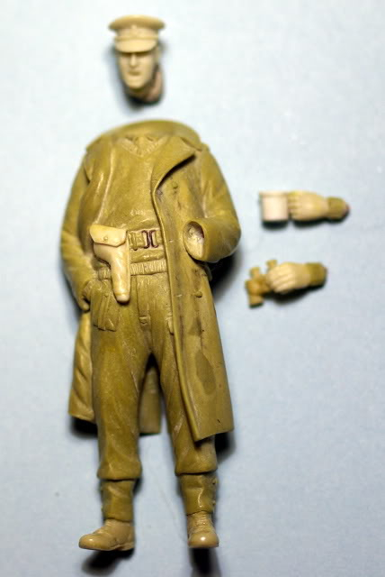 peinture - British Officer 25pdr PEINTURE TERMINEE Picture9