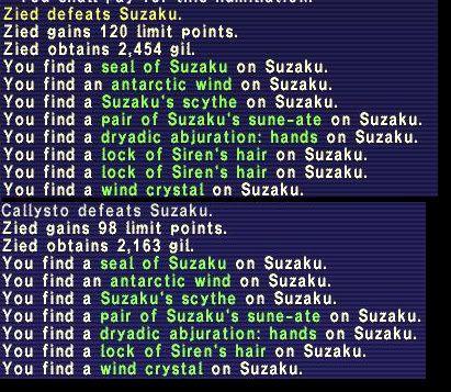 Suzaku Run 04/01/2009 Suzaku1