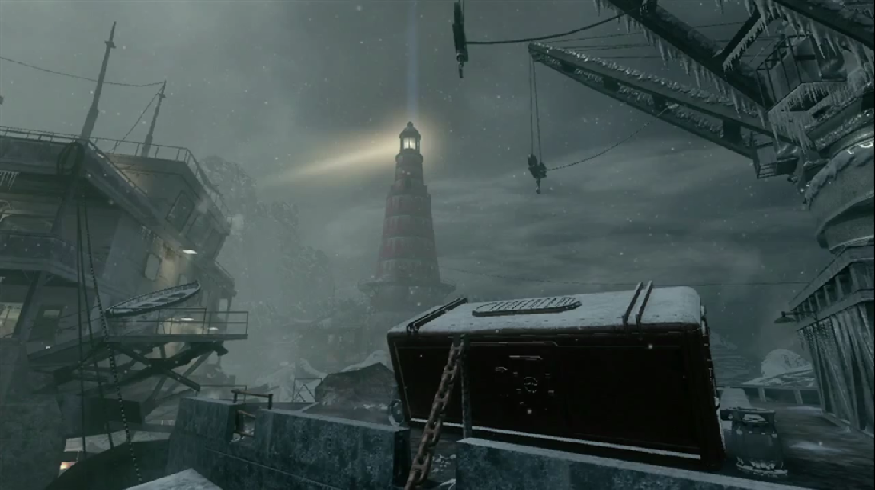 PICTURE : Call of The Dead : NEW ZOMBIES Map in 'Escalation' Cotd