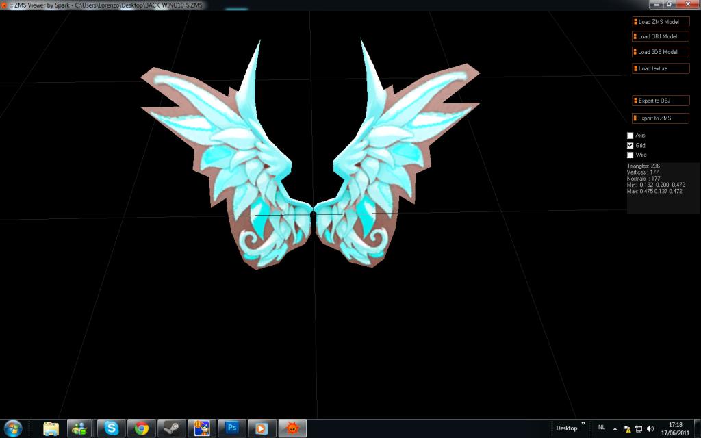 wing recolors Aquawings