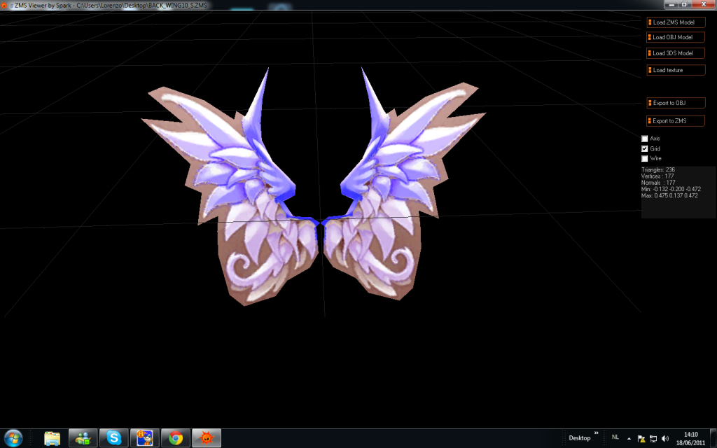 wing recolors Purpleseraph