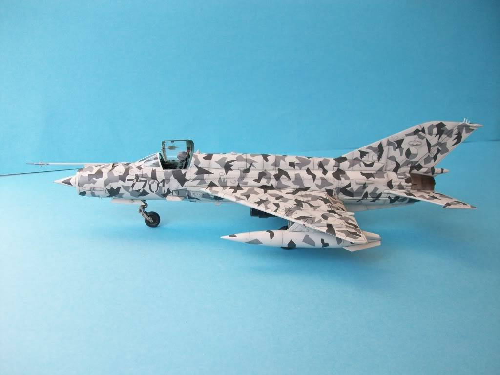 MIG-21MF Czech Air Force        Academy 1/48 100_2135