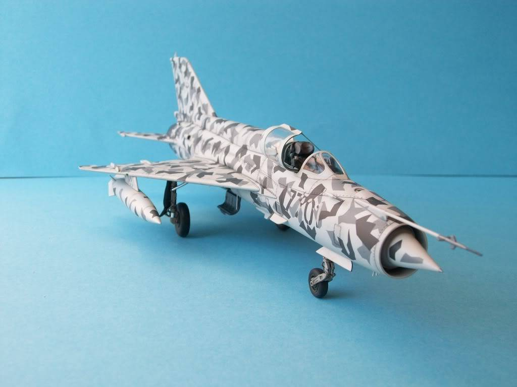 MIG-21MF Czech Air Force        Academy 1/48 100_2147