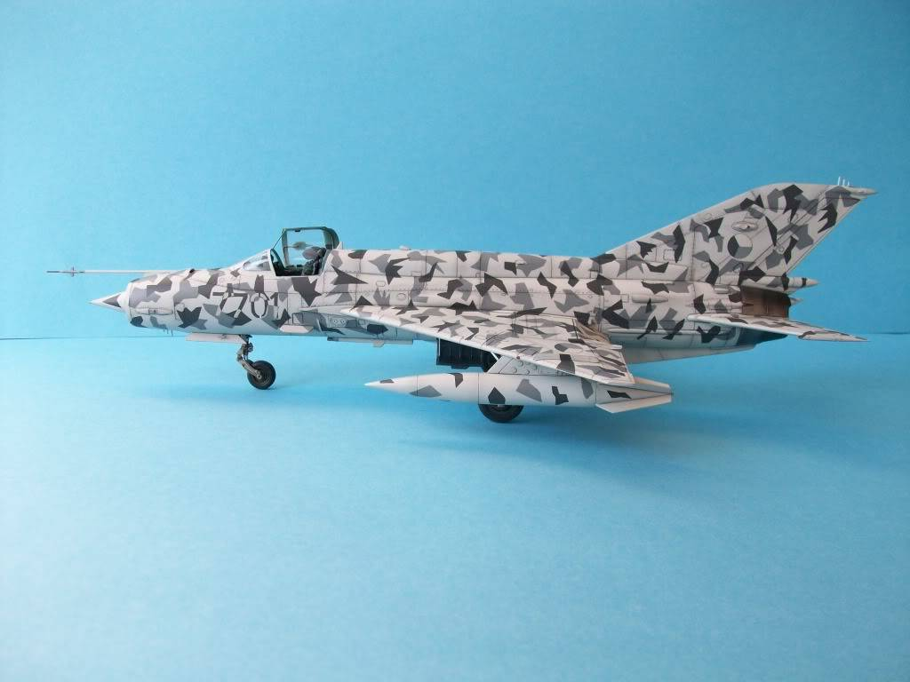 MIG-21MF Czech Air Force        Academy 1/48 100_2168