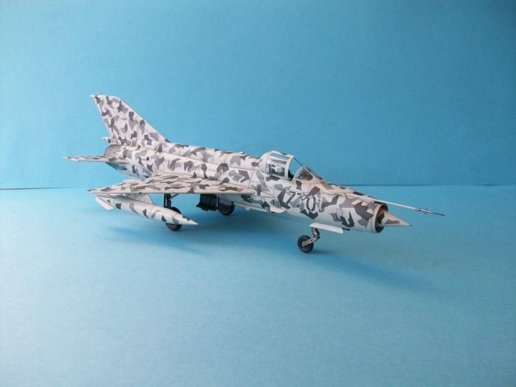 MIG-21MF Czech Air Force        Academy 1/48 100_2173
