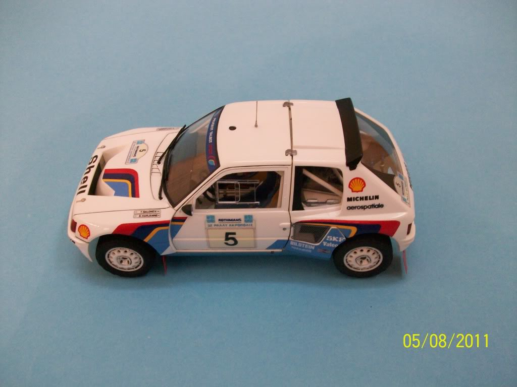 PEUGEOT 205T16 GroypB Acropoilis Rally Tamiya 1/24 100_3866