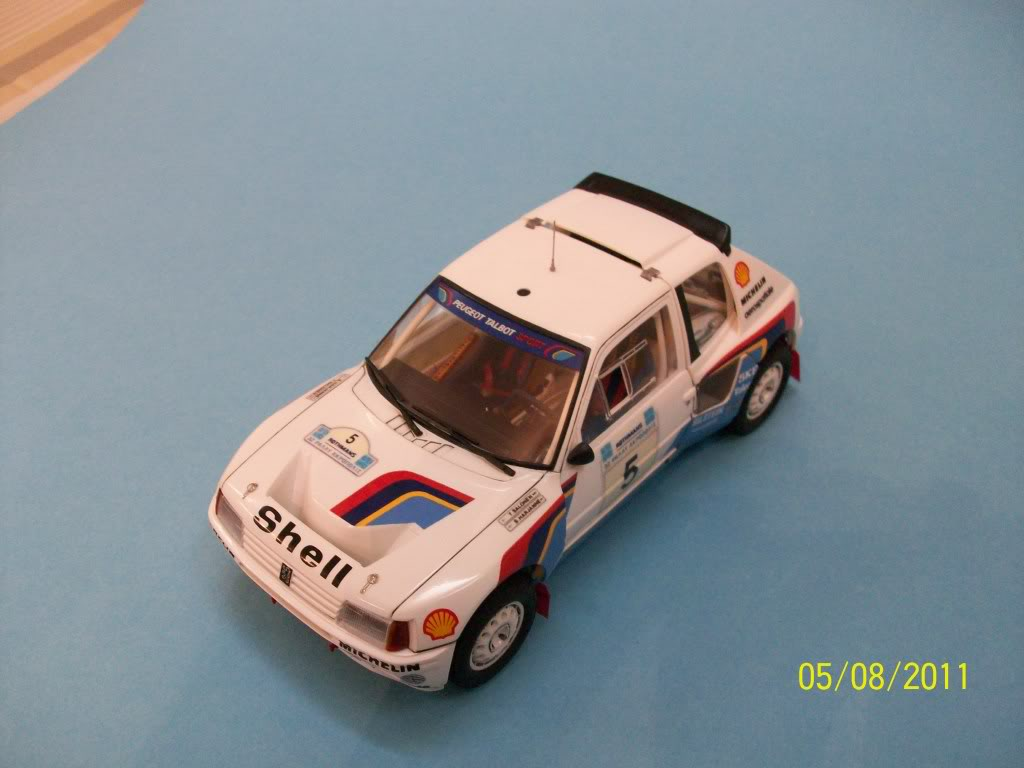 PEUGEOT 205T16 GroypB Acropoilis Rally Tamiya 1/24 100_3871