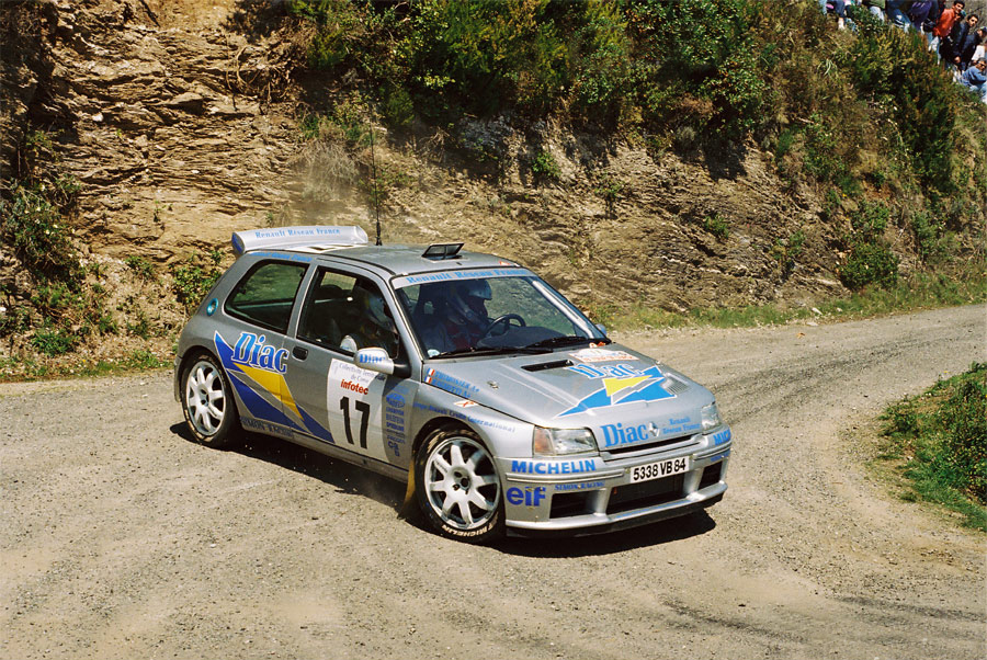 Renault Clio Maxi  (Scuderia Italia Lab 1/24) RagnottiTdC_02_zps03d835b7