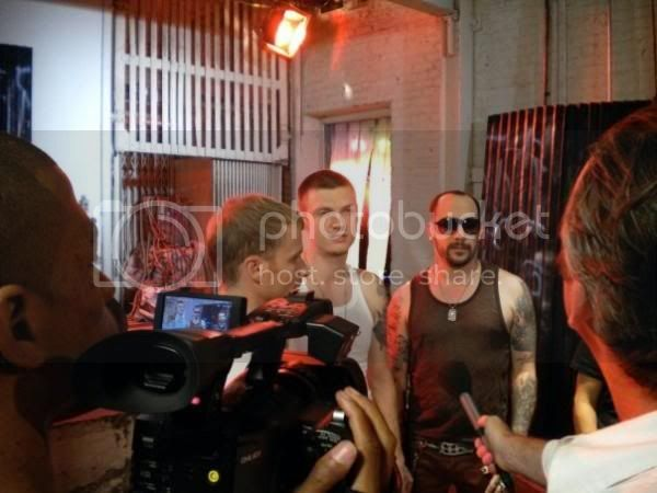 News pics Behind the scenes of ''STMH'' 003