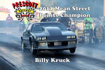 2012 Outlaw points champions BillyKruck