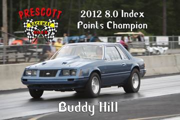 2012 Outlaw points champions BuddyHill